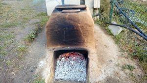 el forn per ceràmica despres de 6 hores
